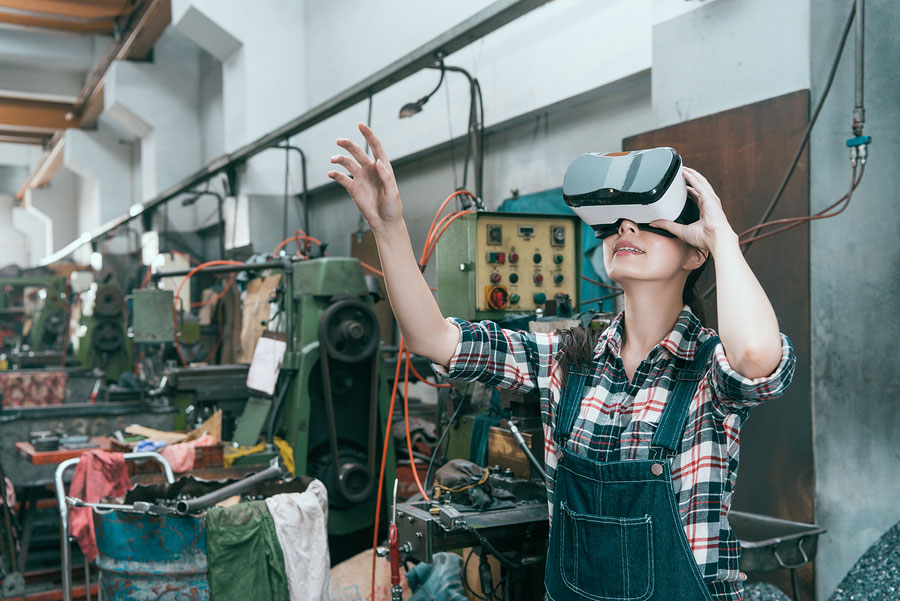How Manufacturers are Making Use of Virtual Reality